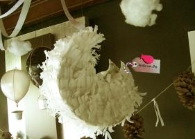 Cumpleaños infantil campestre e_piñata luna