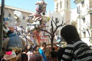 Falla del Pilar ganadora 2014