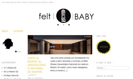 Nuevo post en feltBABY blog