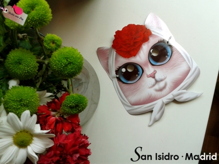 San Isidro 2014_ Careta de gata chulapa