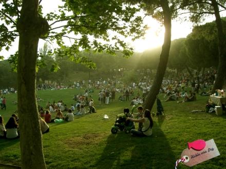 San Isidro 2014_ La Pradera llena de gente