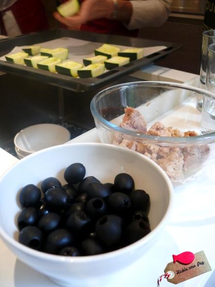 Ingredientes curso cocina creativa para niños