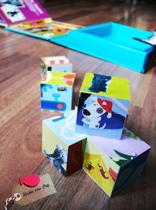 Libro juego Charlot cubos