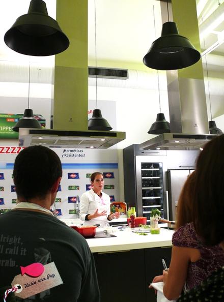 Habiaunapez evento albal chef Iria Castro