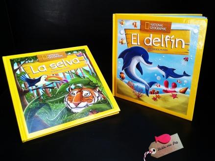 Reseña La selva y El delfín blog cuenta cuentos