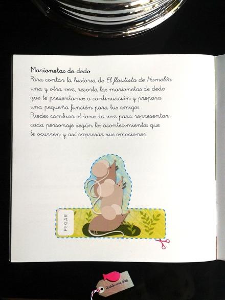 Marionetas de dedo cuento ratones