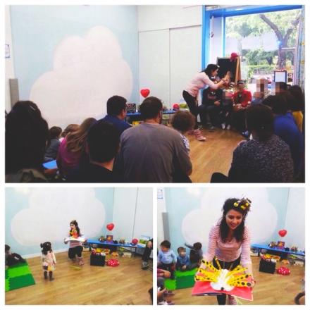 Babyencuentros Cuentacuentos para bebés en inglés