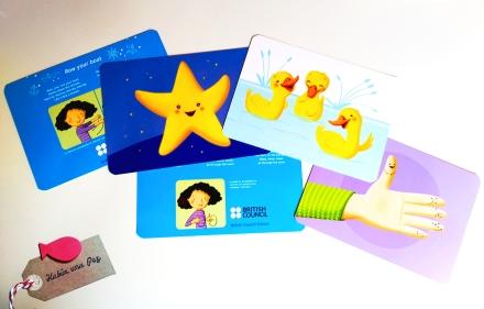 Cards canciones infantiles inglés