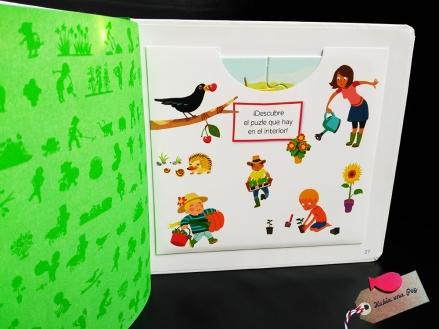 Libro para niños El Jardín b