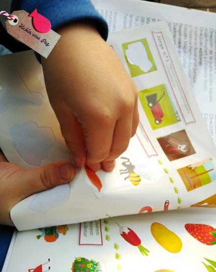 Libro para niños El Jardín c