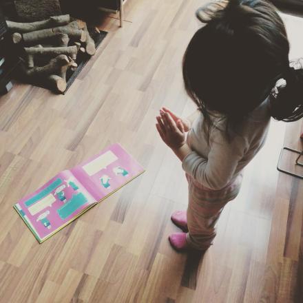 Hacemos yoga infantil